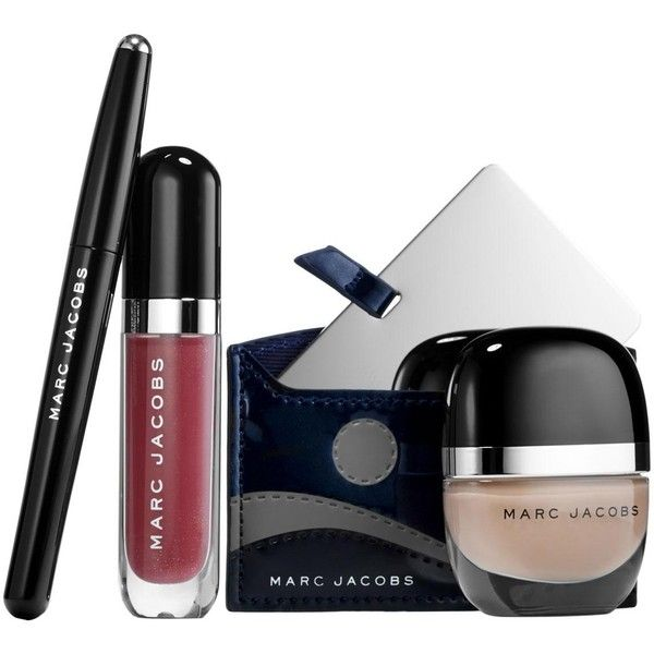 Marc Jacobs La Coquette Favorites Collection (162.220 COP) ❤ liked on Polyvore featuring beauty products, gift sets & kits, makeup, beauty, sets and marc jacobs