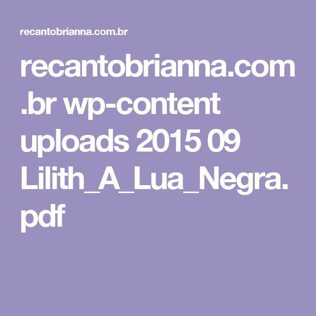 Lilith_A_Lua_Negra.pdf