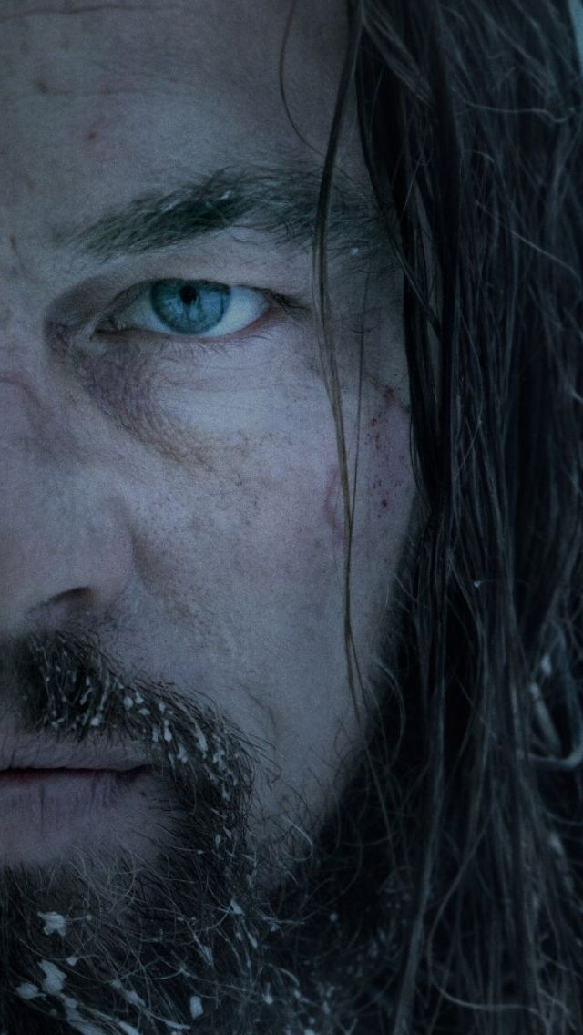 The #Revenant Leo, Tom, Domnall... Gritty,grimy,bloody,violent, cold, achingly so...   K.S.