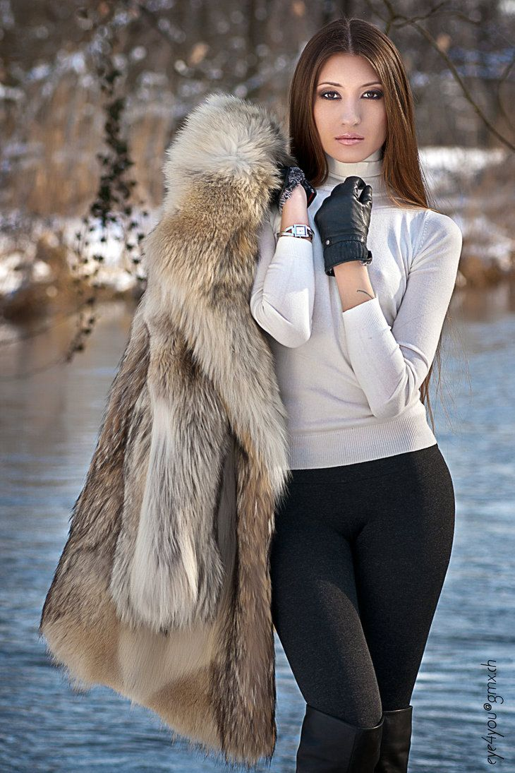 Coyote Fur Coat >> 37 best Saju 90 images on Pinterest | Beautiful women, Fotografia and Photography
