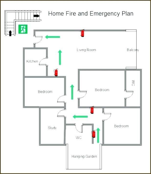 Office Floor Plan Templates Emergency Evacuation Plan Evacuation Plan Office Floor Plan House floor plan with emergency exit