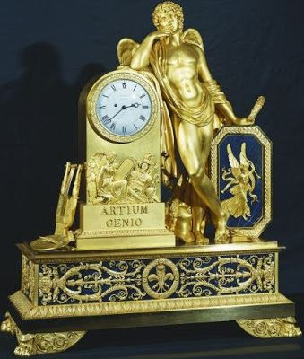 Thomire Clock    Mantle-Clock by Pierre-Philippe Thomire, 1810