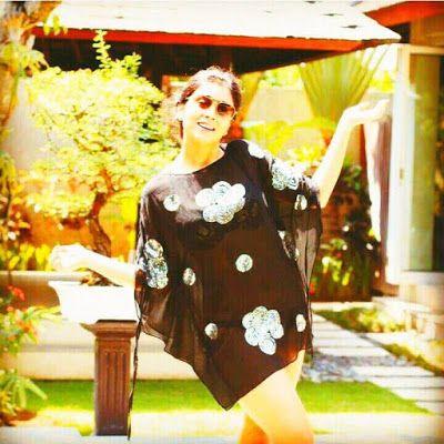 Shriya Saran in a bikini