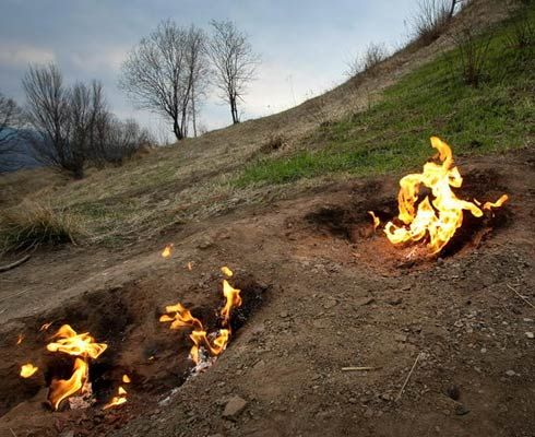 Destinație de weekend: Focurile Vii