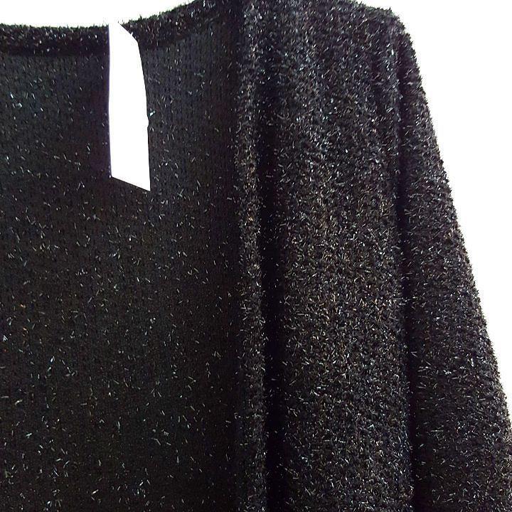 #cardigan #maglia #glitter #nero disponibile #corto e #lungo #valeria #abbigliamento