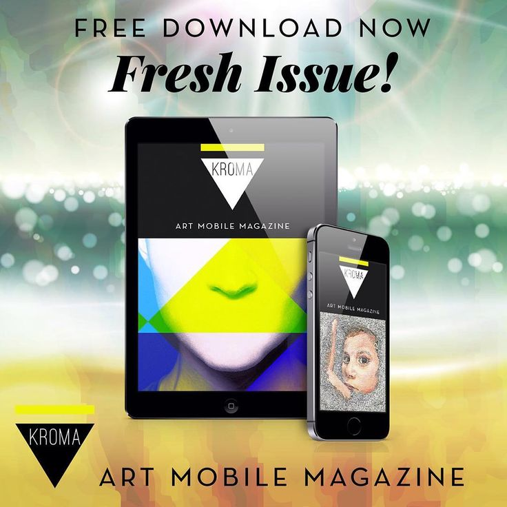 KROMA Magazine summer issue is here!  Download and enjoy.  #kromamagazine #pikatablet
