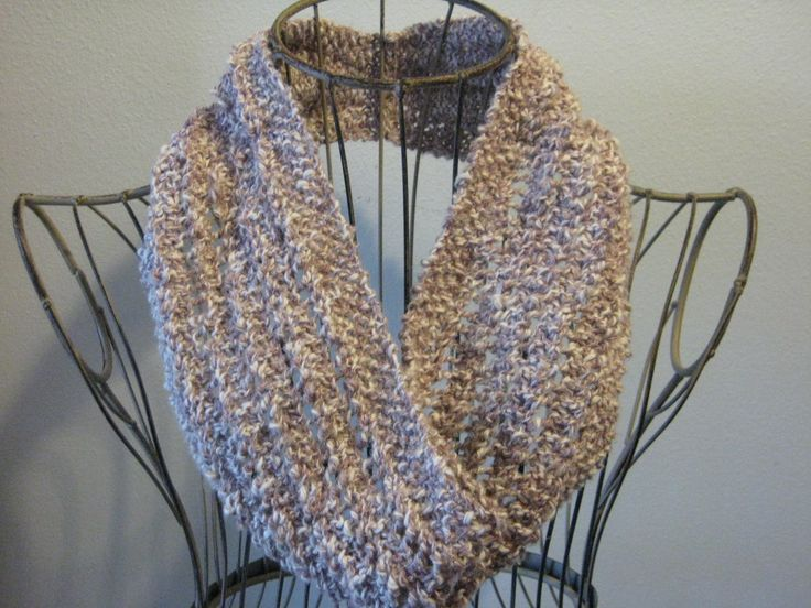 Free Knitting Pattern - Cowls and Neck Warmers: Lace Ladder Cowl