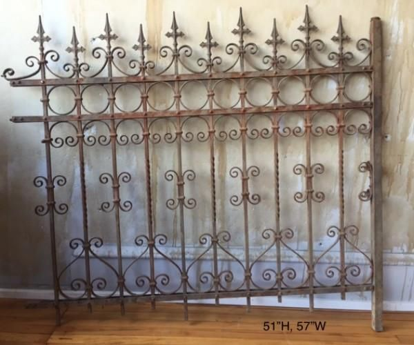 Italian Antique Wrought Iron Fence Sold Wrought Iron Fence Panels Iron Fence Panels Wrought Iron Fences