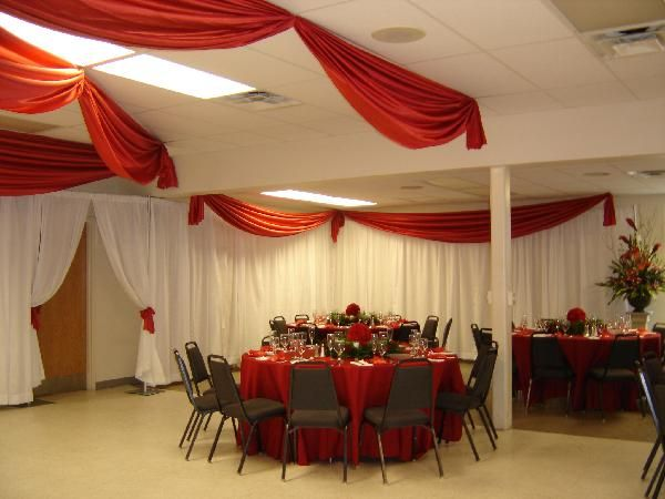 pipe and drape trade show display ideas