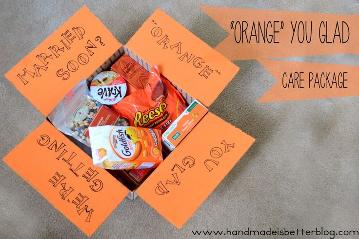 Orange You Glad care package - Love it! - MilitaryAvenue.com