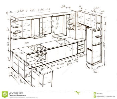 47 best bucatari images on Pinterest Kitchen designs, Kitchen - dessiner plan maison gratuit