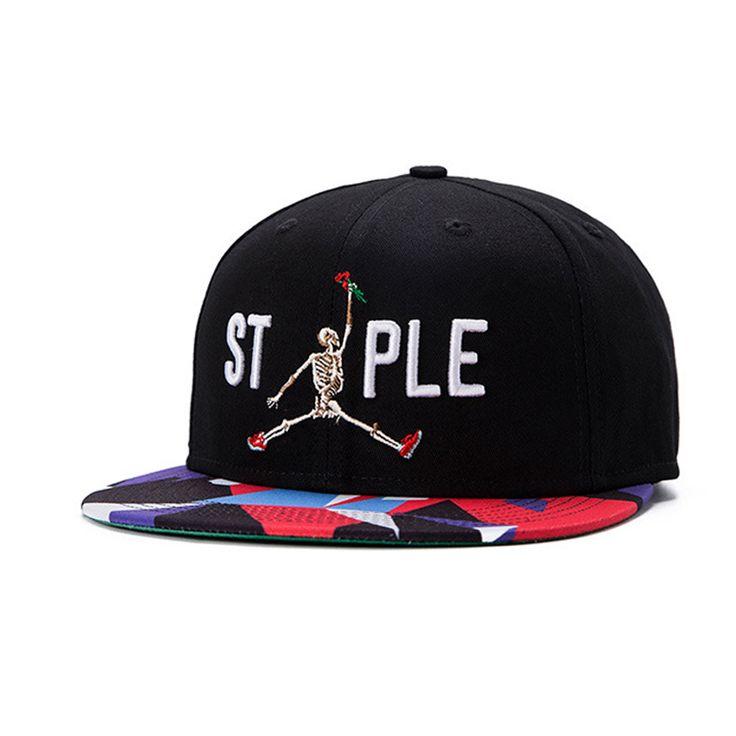 hip hop ᗖ Snapback Cap skeleton jordan Rose Swag ᗜ Ljഃ baseball cap fashion…