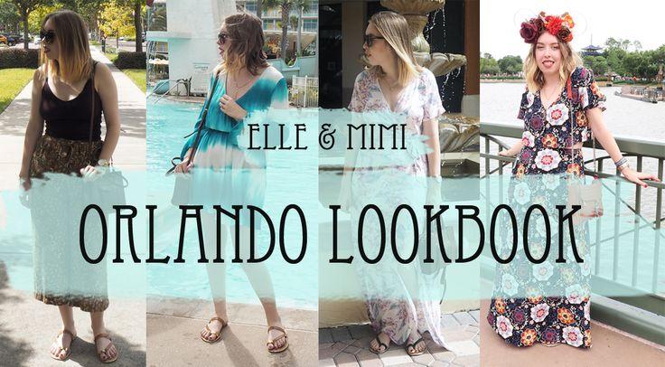 Elle and Mimi, Orlando Lookbook, Orlando Style, YouTube Lookbook,