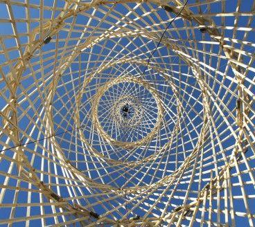 Temporary installation _ Wood structure _  Bergen International Wood Festival