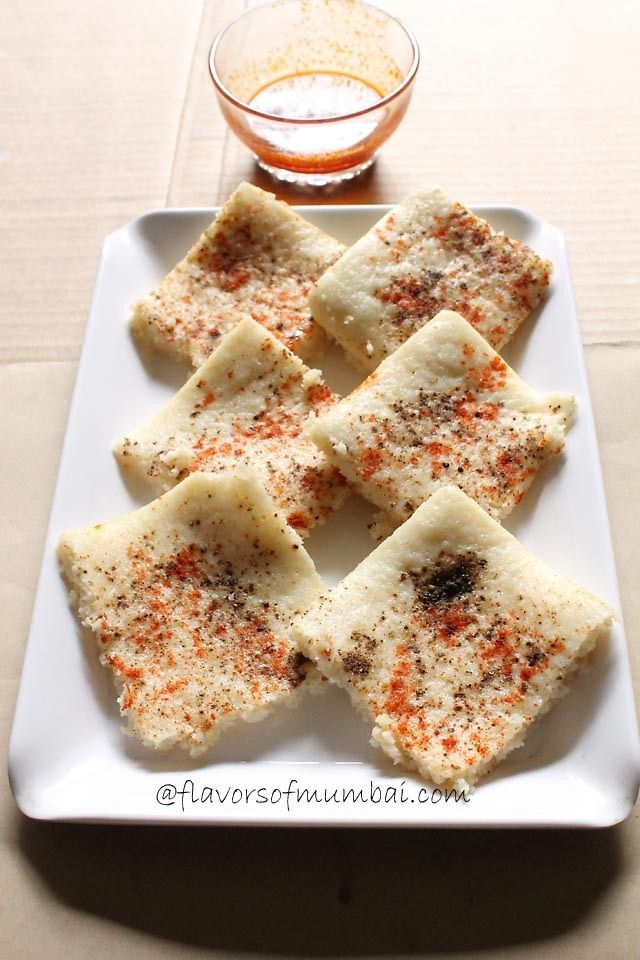 White Dhokla Recipe - Safed Dhokla with a twist