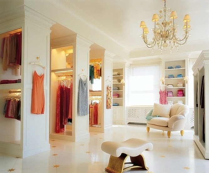 One day, this will be my closet.