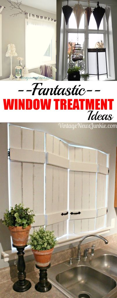 Fantastic Window Treatment Ideas