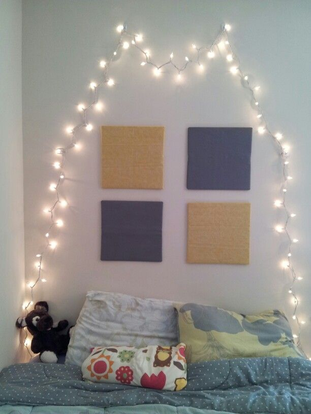 42 best images about ideas for anna 39 s bedroom wall on for 15 ideas to hang christmas lights in a bedroom