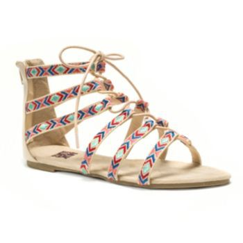 MUK+LUKS+Jessica+Women's+Caged+Sandals