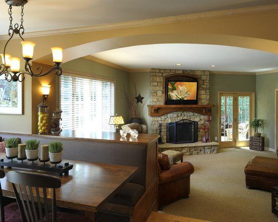 38 best step down living rooms images on Pinterest | Sunken living ...