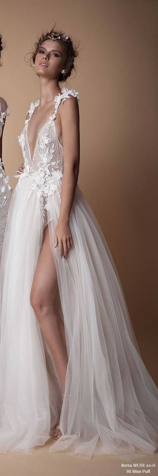 Berta MUSE Wedding Dress Collection2018 – Page 2 – Hi Miss Puff/ Follow me @ Melissa Riley- for more modern wedding dress collections, wedding cake ideas, modern eye makeup ideas, unique wedding photo ideas, reception color palate ideas and more. transcendentwoman