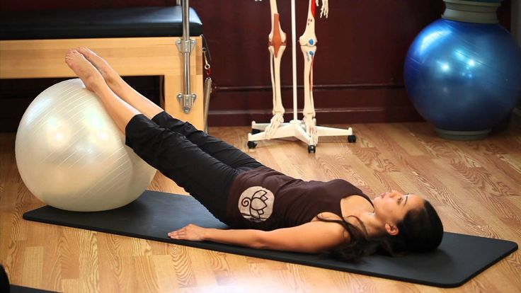 Upside-Down Pilates - Exercise Ball - Lesson 53 - Full 30 Minute Pilates...
