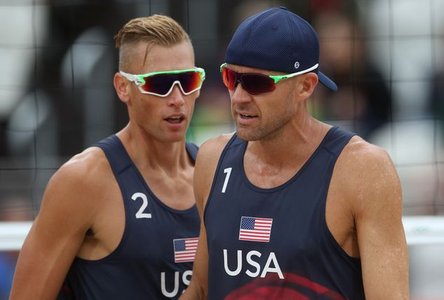Casey Patterson and Jacob Gibb of USA
