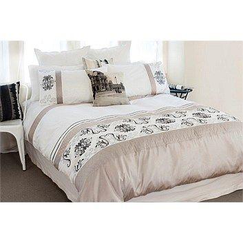 Duvet Cover Sets - Bedroomware - Briscoes - Cloud 9 Optima Paloma Duvet Cover Set