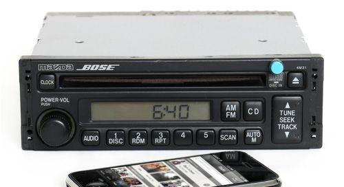 Mazda 626 1998-1999 Bose Radio AM FM CD Player w Bluetooth Music GD7H669R0 4M31
