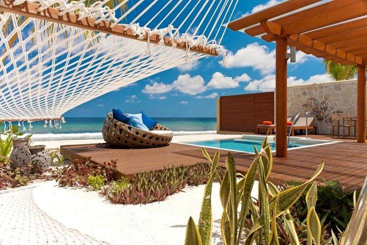 Sheraton Full Moon Resort - private pool and hammock