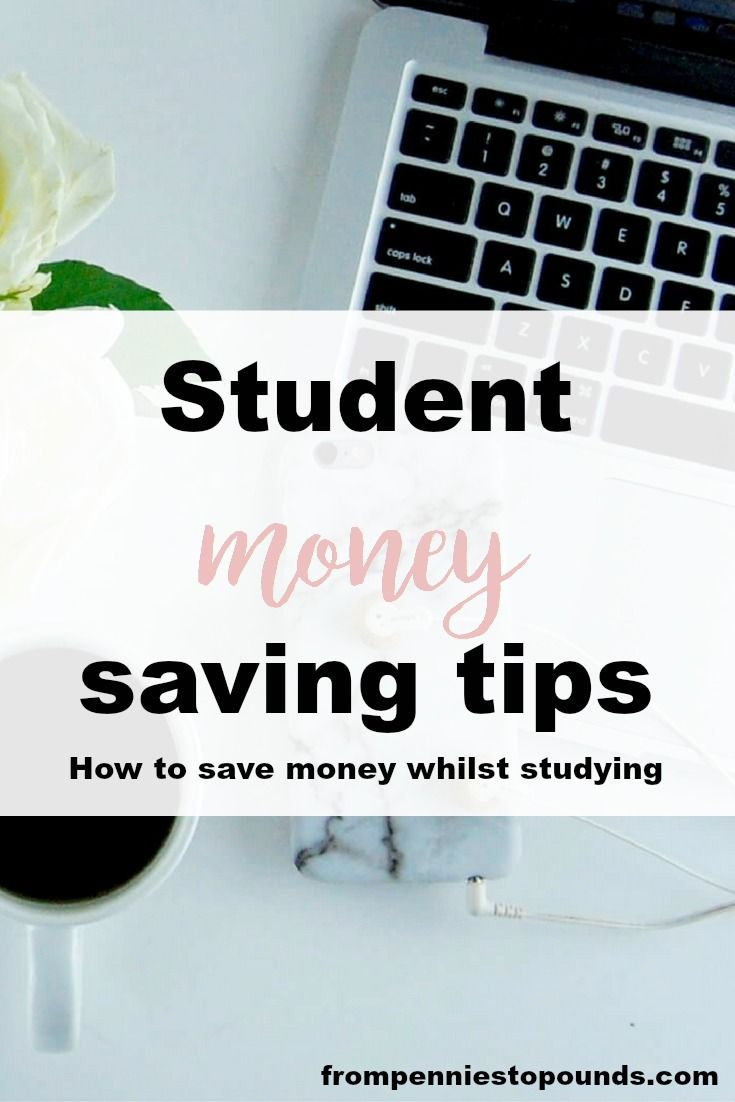 Student money saving tips - how to save on food, textbooks, laptops and more! Click through to read how to save money as a student: http://www.frompenniestopounds.com/student-money-saving-tips/ Budgeting Tips | Save | Finance | Credit Card Debt | Financial Resources | Save more | Budget Help | Mum life | Frugal living | Debt Free Living | Money Management | Saving Tips