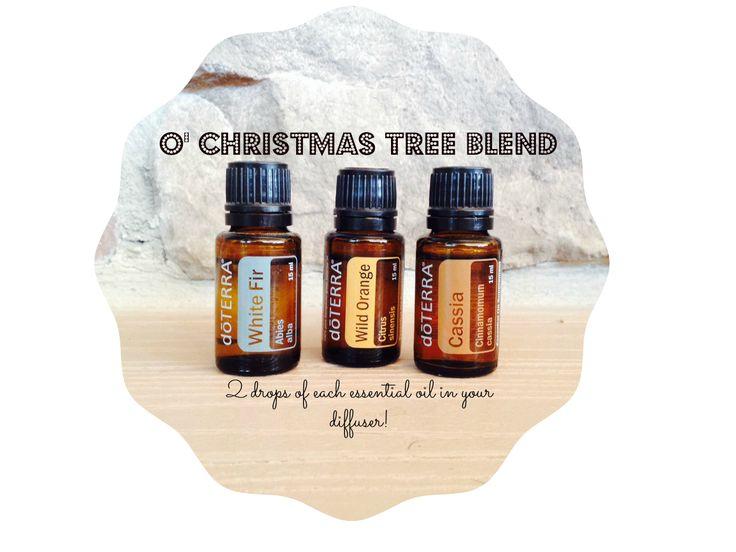 O' Christmas Tree Diffuser Blend! #doterra #diffuser ...