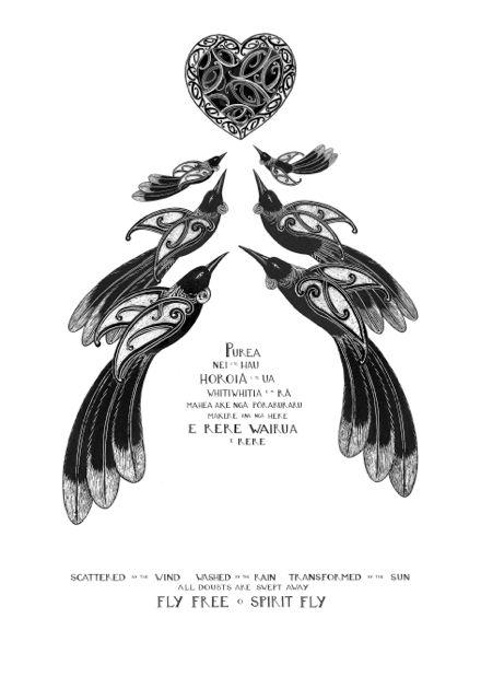 """Purea Nei""  New Zealand Art Print, limited edition of 100."