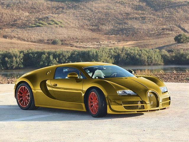 Gold Bugatti | 24 Karat Gold Bugatti Veyron Super Sport | Flickr   Photo  Sharing!