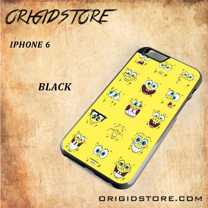 All Expression Of Spongebob Squarepants For Iphone 6 Snap On and 3D Case