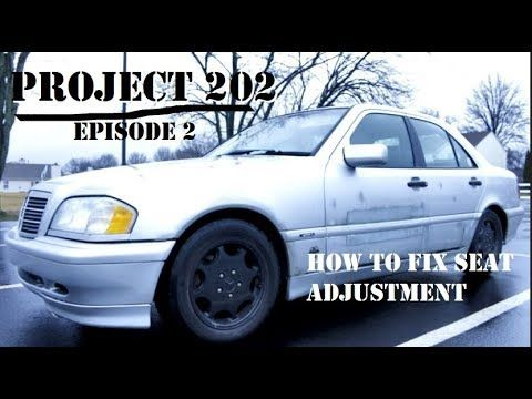 Episode 2 is up!  Seats work again!!! Mercedes C280 - How to fix seat adjustment - Project 202 - Episode 2 - b...