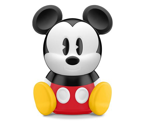 Cool SleepTime Mickey is a table lamp with night time indication Bringing fort to parents by helping their child to understand when to stay in bed and when