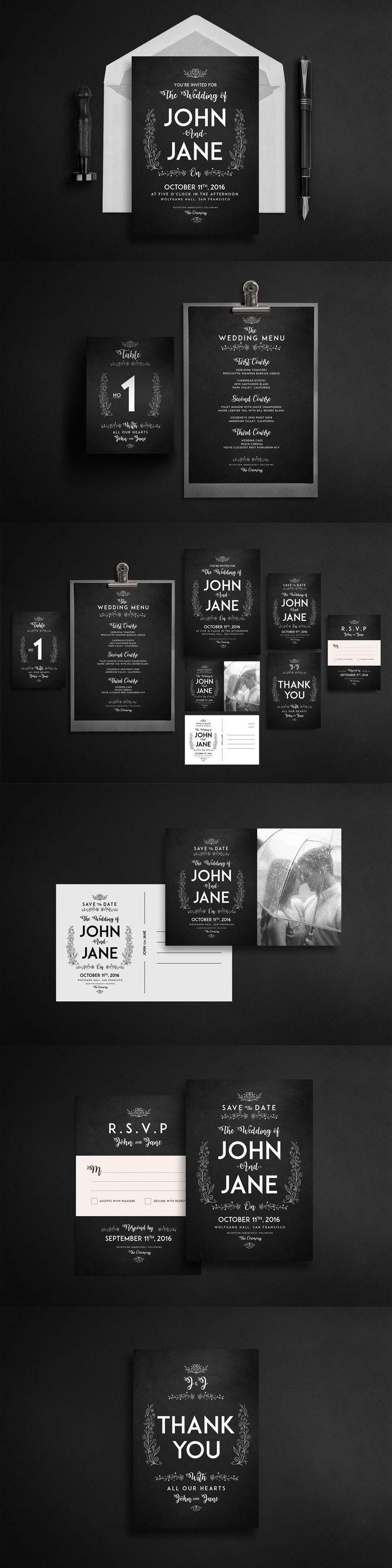 Best 121 Wedding Invitation Card Templates ideas on Pinterest