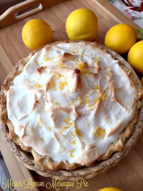 Meyer Lemon Meringue Pie | Recipes and Ramblings with the Tumbleweed Contessa