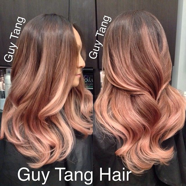Guy Tang Romantic Rose Blonde Ombre Ombre Ombrehair