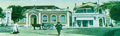 Antiga imagem do centro da vila(à época)
