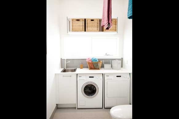 Laundry layout and tile