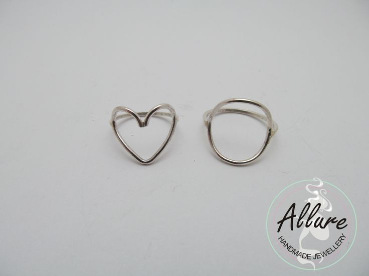 Sterling Silver Wire Rings