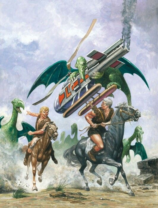 The Trigan Empire by Don Lawrence