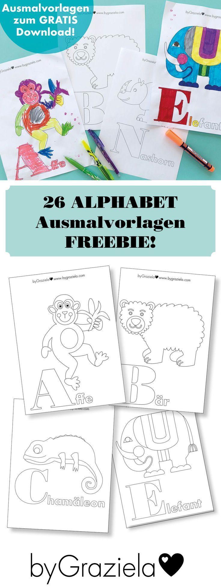 Lerne Buchstaben Kostenlose Malvorlagen Fur Kinder Laden Sie Die 26 Alphabet Malvorlagen Kostenlos Herunter Alphabet Zum Ausmalen Vorschul Alphabet Blog