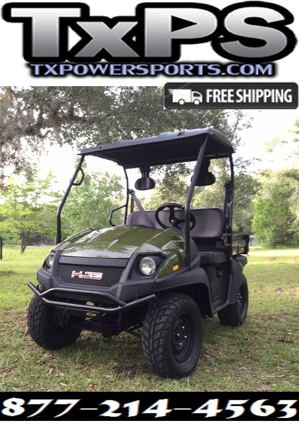 New Linhai Big Horn 200Vx 4 Stroke Overhead Cam, Air/Oil Cooled Engine Side By Side UTV.Free.Shipping.Sale Price: $4,299.00