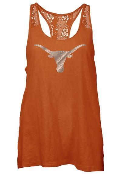 Texas Longhorns Womens Tank Top - Texas Orange Texas Periwinkle Sleeveless Shirt http://www.rallyhouse.com/shop/texas-longhorns-pressbox-22640096?utm_source=pinterest&utm_medium=social&utm_campaign=Pinterest-TexasLonghorns $29.99
