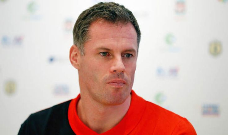 awesome Jamie Carragher trolls Manchester United over Mickey Mouse treble   Football   Sport Check more at https://epeak.info/2017/03/03/jamie-carragher-trolls-manchester-united-over-mickey-mouse-treble-football-sport/