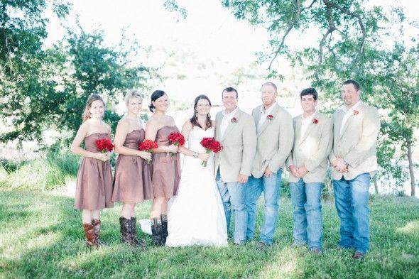 Texas weddinga from rusticweddingchic.com