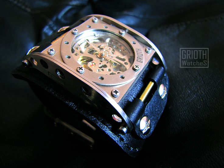The INDUSTRIAL. Custom watch by GRIOTH. www.griothwatches.com